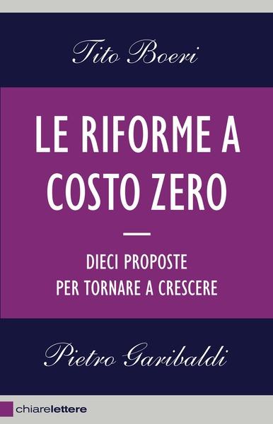 Le riforme a costo zero